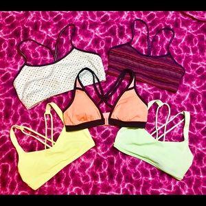 Bundle of Lululemon sports bras